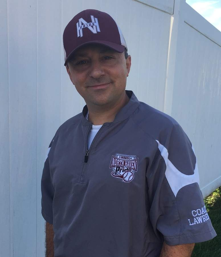Lawrence Morizio has put in countless volunteer hours while helping the North Haven Pride travel softball program grow as its travel coordinator. Lawrence, who's lived in North Haven since 2004, was head coach for the Pride's 16-U team this summer and is also an executive board member for the North Haven Girls' Softball League.  Photo courtesy of Lawrence Morizio
