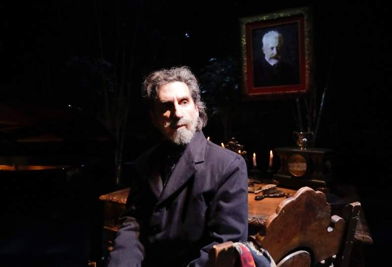 Hershey Felder's solo show features the works of the famed Russian composer Tchaikovsky. Photo courtesy of Hershey Felder