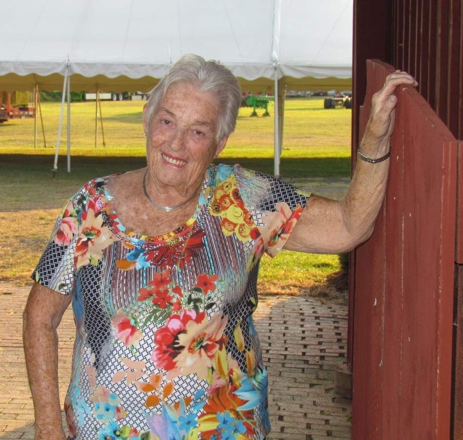 Now in her 42nd year as a volunteer, Nancy Keeler will once again help the Guilford Agricultural Society welcome all to the annual Guilford Fair from Friday, Sept. 15 through Sunday, Sept. 17 at the Guilford fairgrounds. Photo by Pam Johnson/The Courier