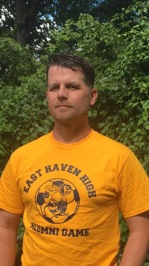 Ryan Harrold will coach the East Haven High School boys' soccer team on an interim basis this fall, while Head Coach Paul Comesanas is overseas for military duty in the United States Army Reserve. Photo courtesy of Ryan Harrold
