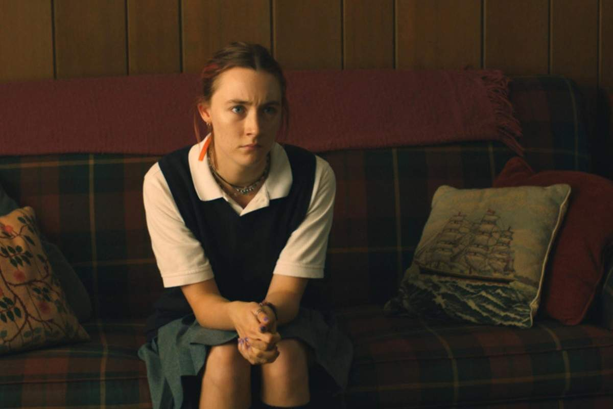 Saoirse Ronan plays a high school student looking to fly away from her small town life in Lady Bird. Photo Courtesy Of A24 Films