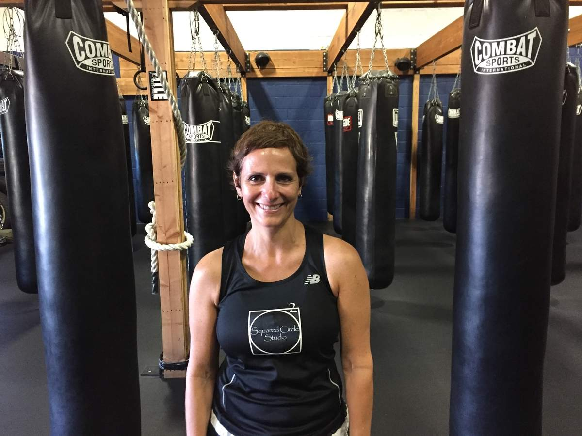 Chester resident Cindy Lignar and Squared Circle Studio offer Rock Steady Boxing to help alleviate symptoms for people who have been diagnosed with Parkinson's disease. Photo courtesy of Cindy Lignar
