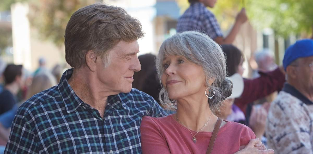 Robert Redford and Jane Fonda star in Our Souls at Night. Photo courtesy of Netflix