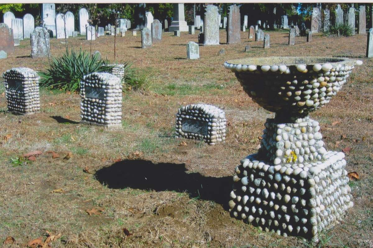 Old Saybrook's ancient burial ground, the Cypress Cemetery, is the final resting place for some of the town's most prominent citizens, and lesser-known individuals. Photo courtesy of Old Saybrook Historical Society