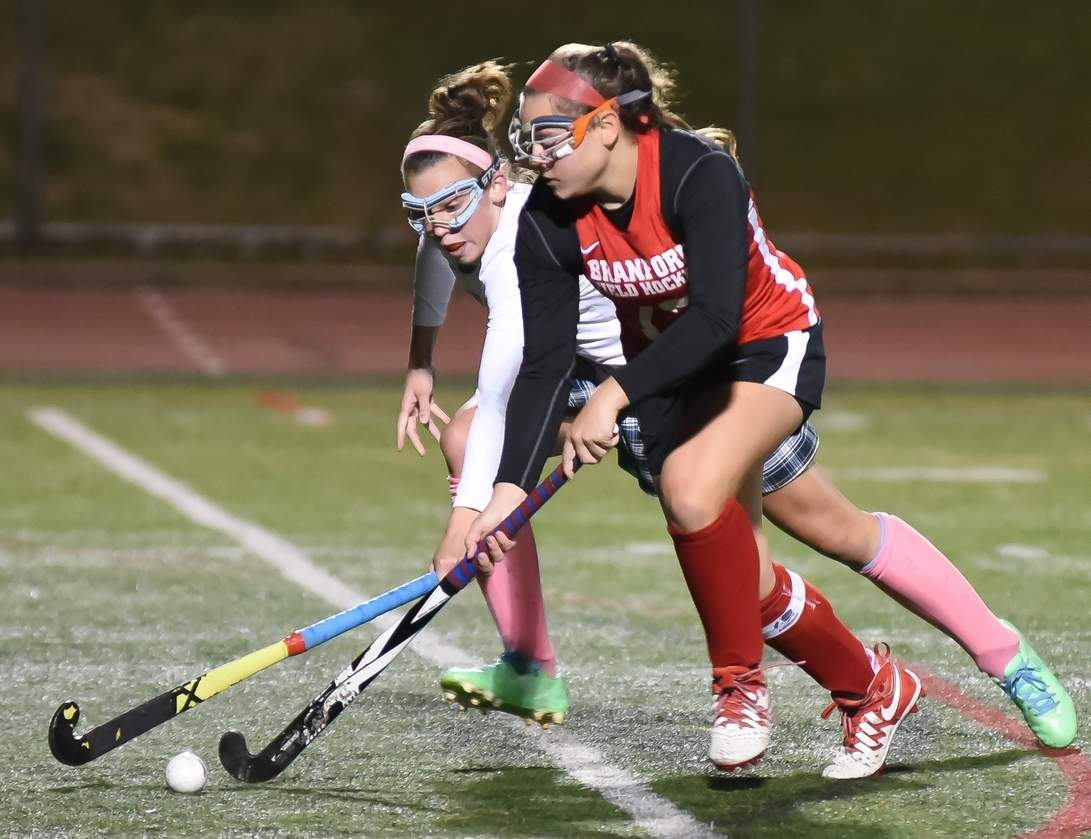 Sabrina Torcellini and the Branford field hockey team won the SCC regular season title and now turn their attention toward the postseason. Photo by Kelley Fryer/The Sound