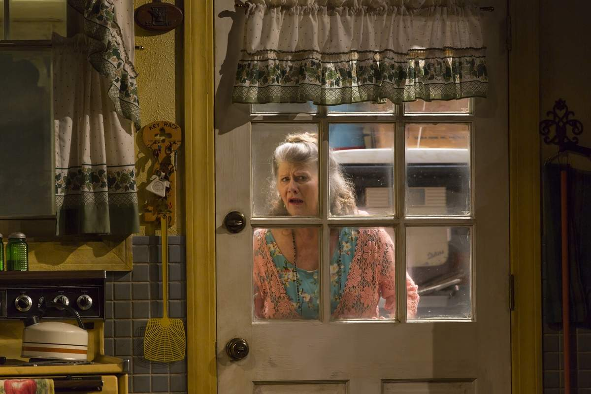 Judith Ivey as Grace Bodell in Fireflies at Long Wharf Theatre. Photo by T. Charles Erickson