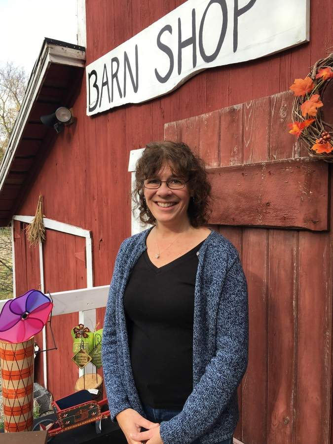 Maureen Alfiero is excited to share the story of Down the Lane Farm—as well as its honey and skin care products—with locals and visitors at the first annual Killingworth Fall Farm Tour on Saturday, Nov. 18. Photo by Susan Talpey/The Source