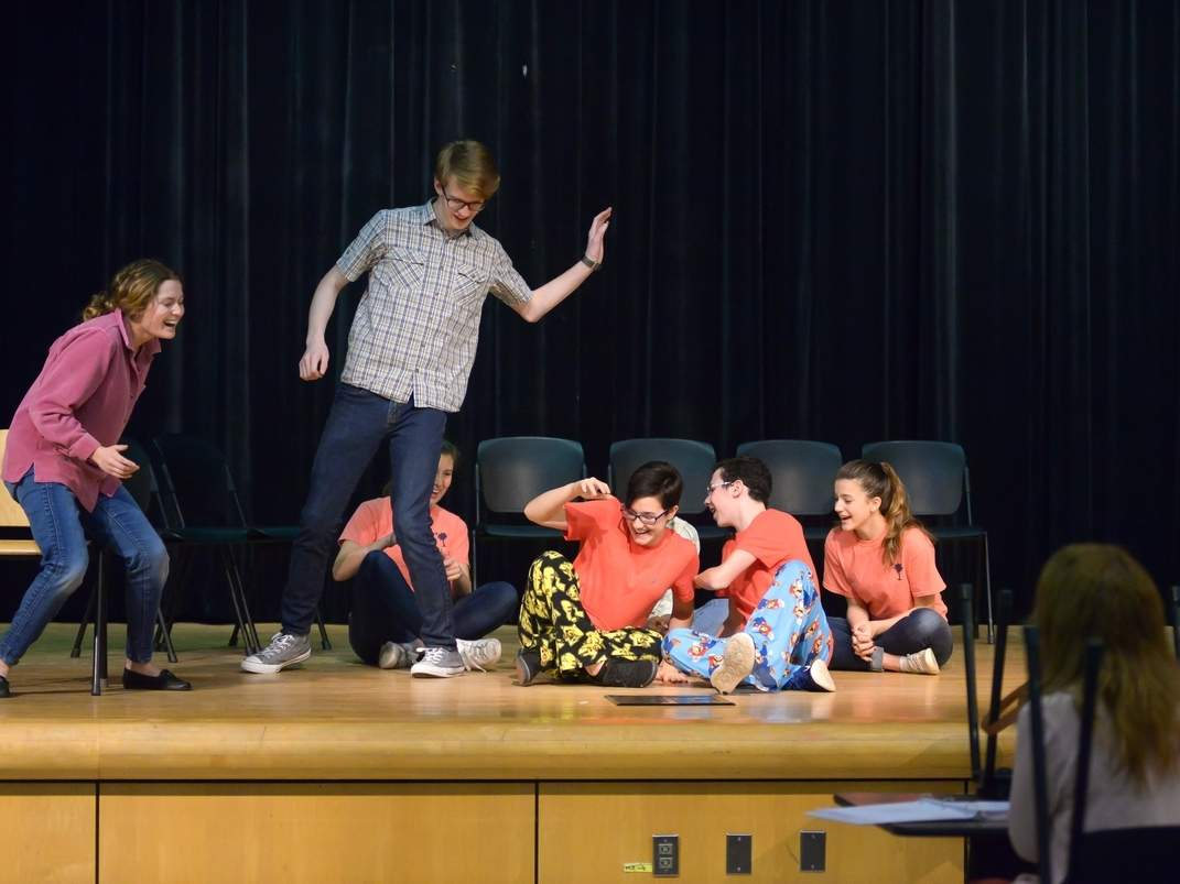 DHHS Students Prepare for Upcoming Production