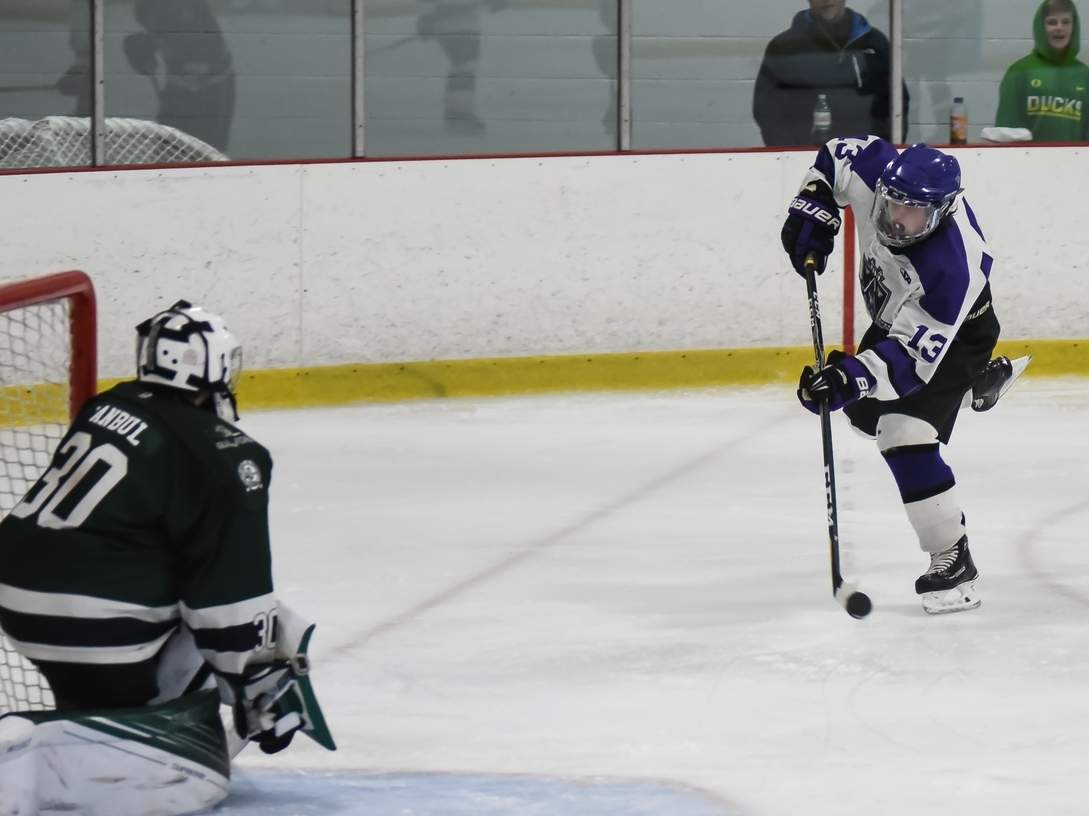 Sean McKee recorded six goals in two games for a pair of hat tricks last week as North Branford cruised to a pair of victories to move to 5-2. Photo by Kelley Fryer/The Sound
