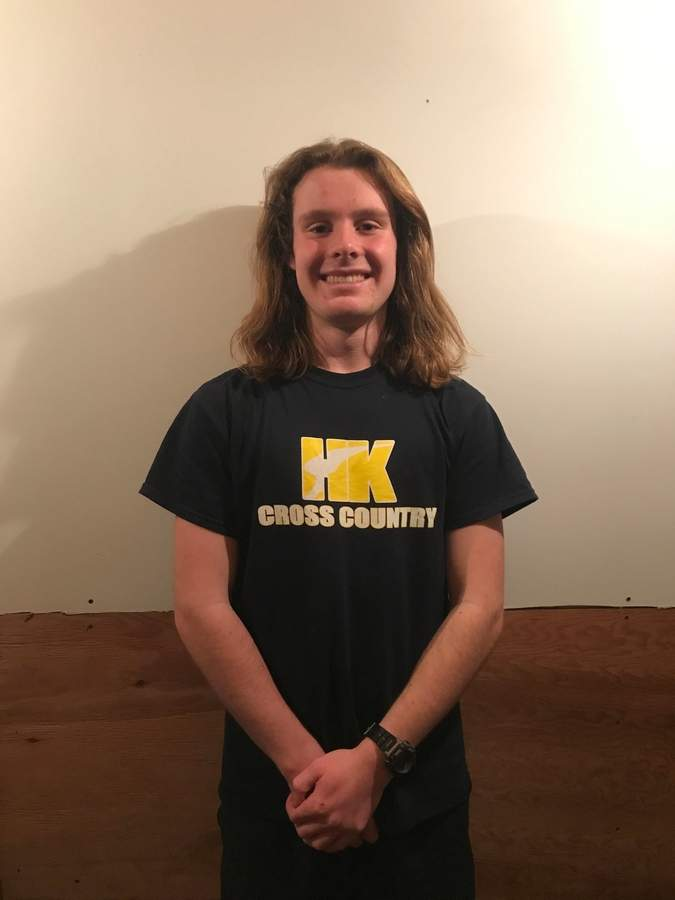 Kurt Sodergren earned All-Shoreline Conference First Team honors as a senior captain for the Haddam-Killingworth boys' cross country squad last year, while helping the Cougars claim a pair of postseason titles. Photo courtesy of Kurt Sodergren