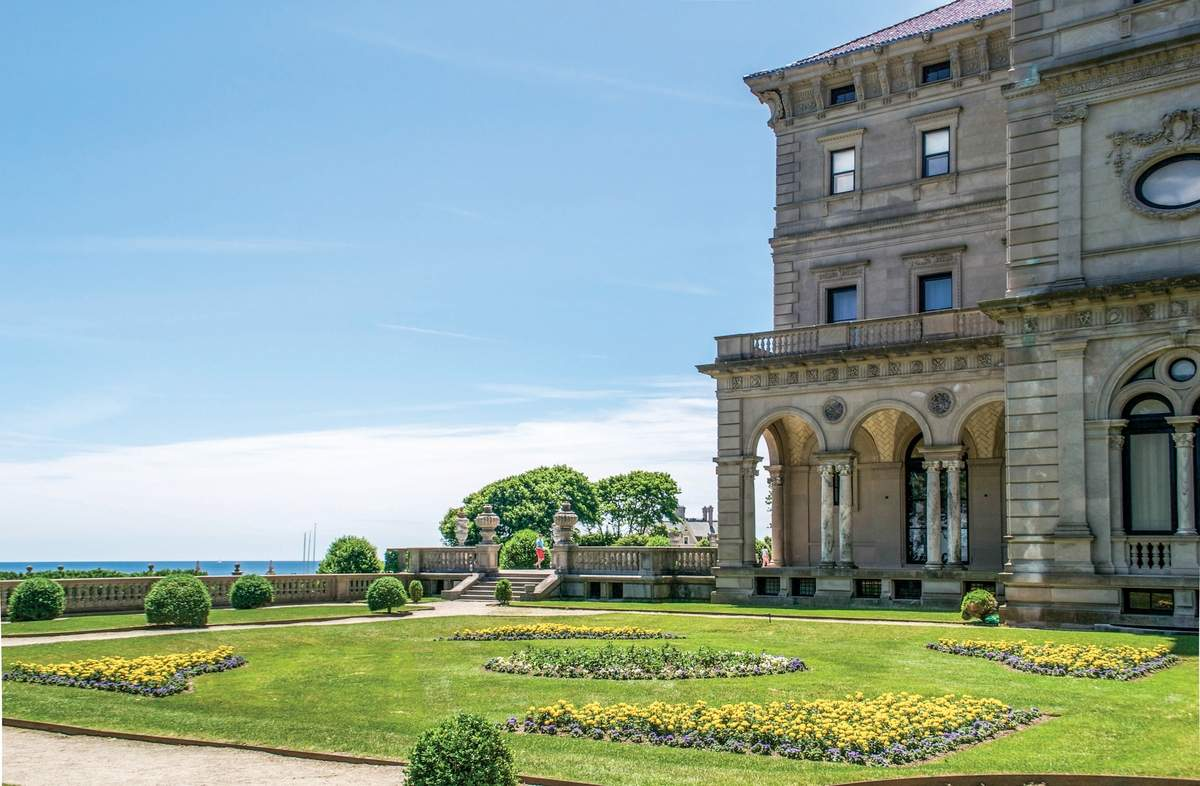 The Breakers. Photograph courtesy of Discover Newport
