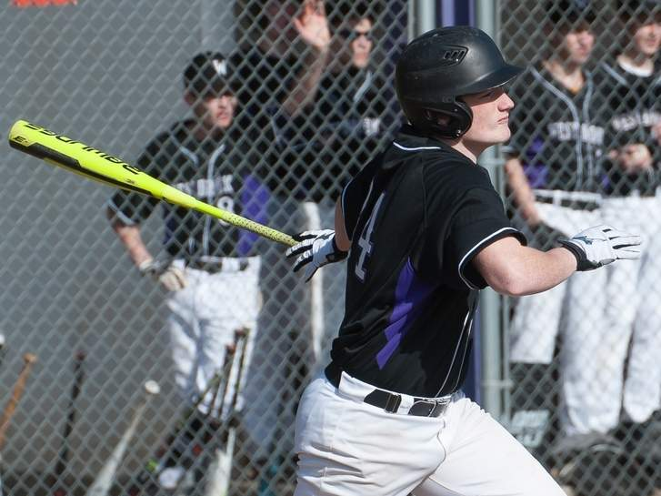 David McCain and the Westbrook baseball team lost a 1-0 decision to North Branford last week, but bounced back by recording a 2-1 victory versus Coginchaug on April 11. Photo by Kelley Fryer/Harbor News