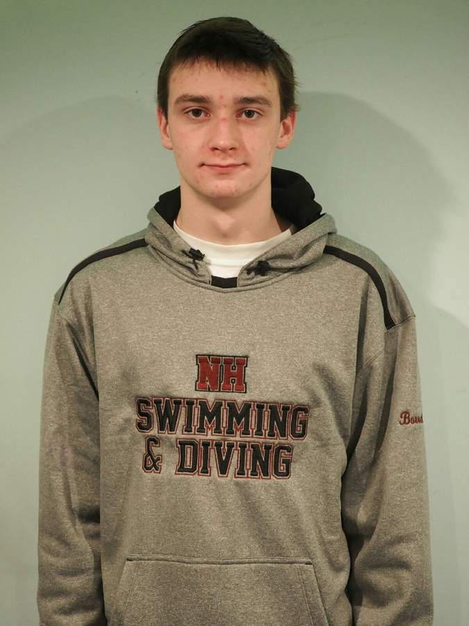 Stephen Borrelli has learned a lot about the sport of swimming during the last few years. After joining the boys' swim team with no experience, Stephen has progressed into a solid swimmer who specializes in the distance freestyle events for North Haven. Photo courtesy of Stephen Borrelli