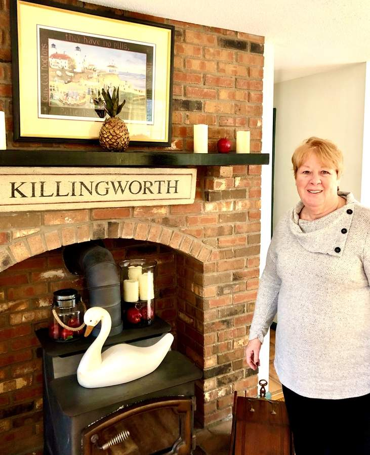 Sandy Allard is helping to make a move to Killingworth even easier with the formation of a Newcomers Club. Photo by Margaret McNellis/The Source