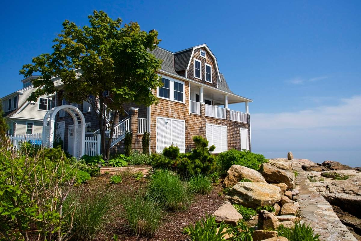 Homeowners will feel like they live on their own island when inside the home.