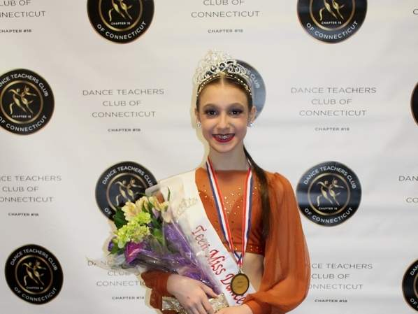Clinton's Ashley Ingils was recently crowned Teen Miss Dance of Connecticut and will be going for the title of Teen Miss Dance of America when she competes at the Dance Masters of America National Title Competition in Atlanta, Georgia on Tuesday, July 2. Photo courtesy of Kimberly Inglis