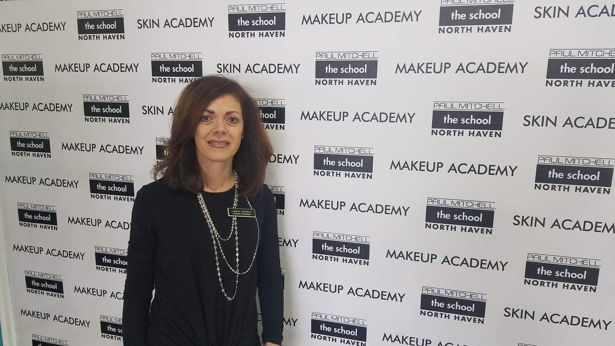 A lifelong appreciation of teachers led Laura Landino to lead her own hairdressing academy—and to ensure local youngsters have opportunities to learn.  Photo by Nathan Hughart/The Courier