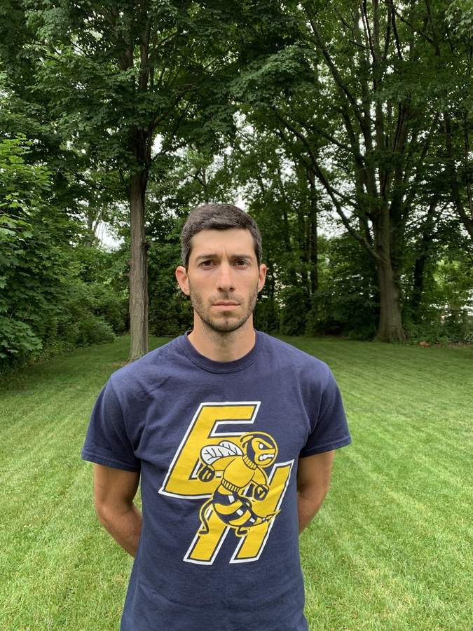 After serving as an assistant coach with East Haven's girls' soccer team, Mike Papantonio was recently named the head coach of the Yellowjackets' boys' soccer squad. Mike is a Madison native who played soccer at Daniel Hand High School.  Photo courtesy of Mike Papantonio