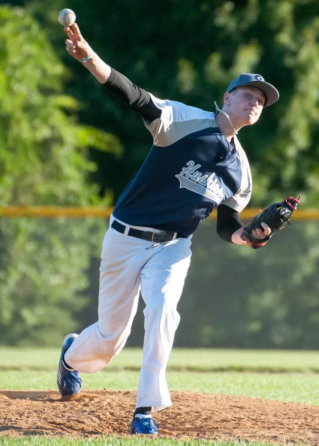 John Urban and the Clinton Huskies' 19-U baseball team improved to 7-1 after winning three of their four games last week. File photo by Kelley Fryer/Harbor News