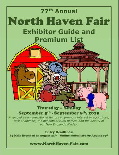 2019 North Haven Fair Exhibitor Guide
