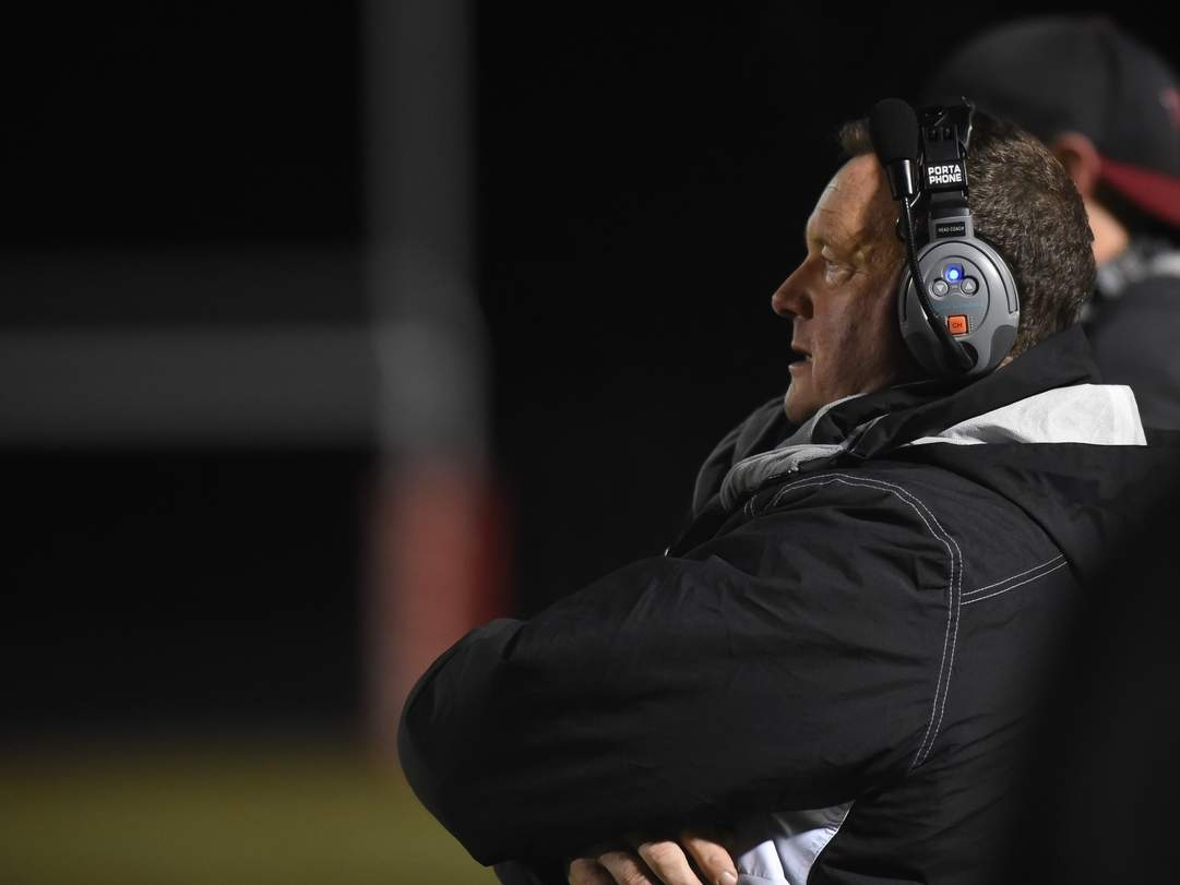 Head Coach Tim King and the Warriors will kick off the 2019 fall season with a home game against Morgan at Valley Regional High School on Friday, Sept. 13. File photo by Kelley Fryer/The Courier