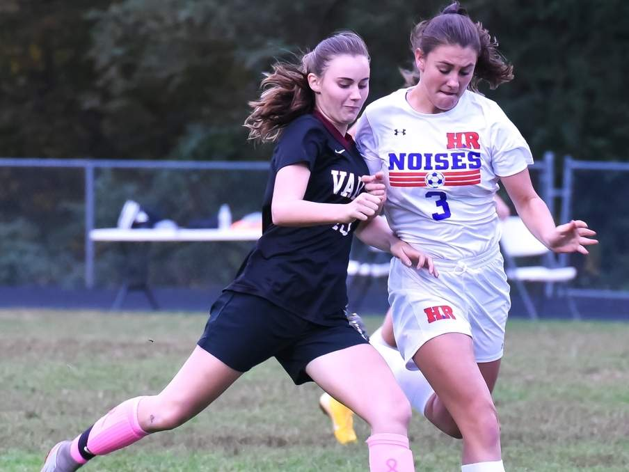 Ava Duval and the Valley girls' soccer squad are on the road to face Shoreline Conference rival Old Saybrook for their season opener on Thursday, Sept. 12. File photo by Kelley Fryer/The Courier