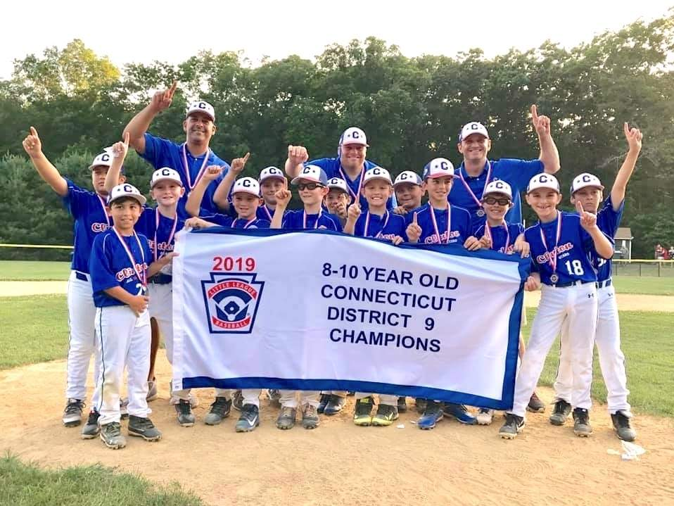 The Clinton 10-U Little League baseball team won the District 9 title and earned a trip to the Section 3 final this summer. Photo courtesy of Todd Aiken