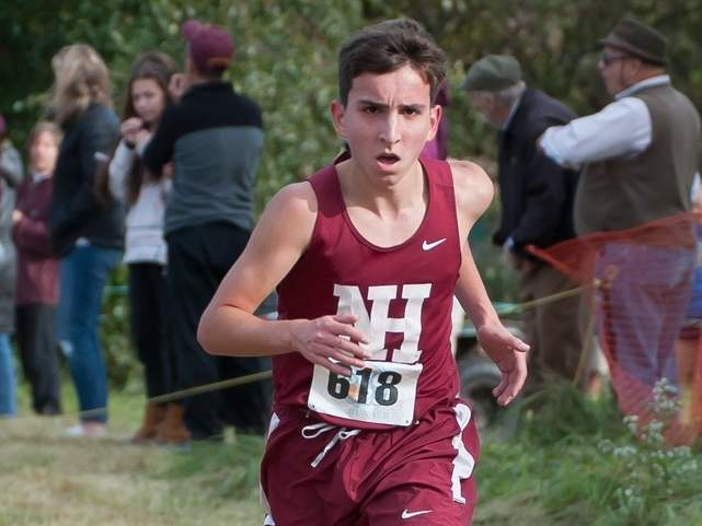 Michael Rubano and the Indians are hosting a quad-meet at Wharton Brook State Park on Tuesday, Sept. 10. File photo by Kelley Fryer/The Courier