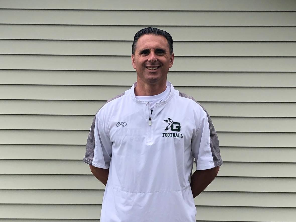 North Branford resident and football alum Anthony Salvati is looking forward to kicking off his debut campaign as head coach of the Guilford High School football squad. Photo courtesy of Anthony Salvati