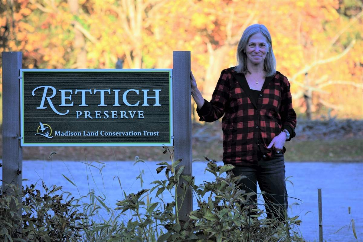 Dr. Leslie Sude, a Yale pediatrician, volunteers her time to StreetCred and the Madison Land Conservation Trust, where serves as a board member and heads the Rettich Preservation Committee. Photo by Maria Caulfield/The Source