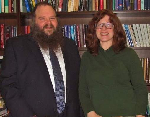Since 1999, Rabbi Yossi Yaffe has led Chabad of the Shoreline. Together with his wife, Rochel Baila Yaffe, he has helped to foster, educate, and celebrate the heritage of the area's Jewish community, as well as working to bolster that identity by offering special programs.   Photo by Pam Johnson/The Sound