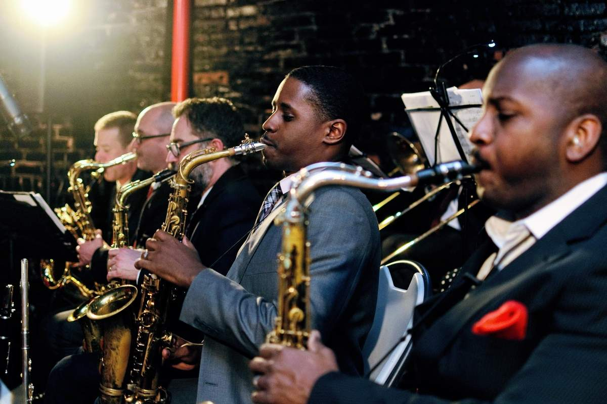 The New London Big Band will take the stage with the Eastern Connecticut Symphony Orchestra on Saturday, Feb. 1 at the Garde Arts Center. Photo courtesy of the Eastern Connecticut Symphony Orchestra