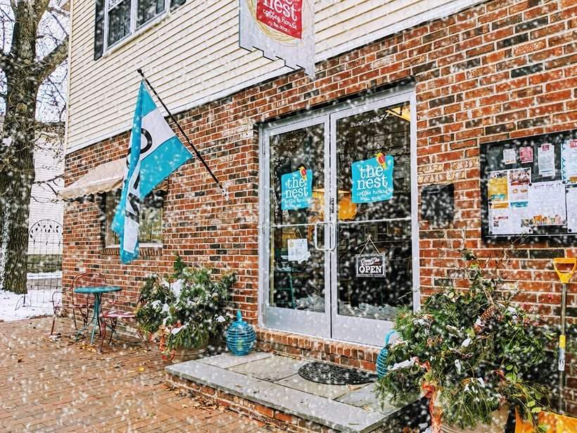 A Little Compassion is an area non-profit that operates The Nest Coffee House in downtown Deep River. It is offering an award to support young adults with autism, and intellectual and developmental disabilities. Photo courtesy of The Nest Coffee House