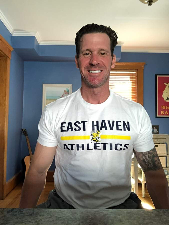 East Haven boys' basketball coach Ricky Narracci was recently named the new head coach of the Yellowjackets' golf squad. Photo courtesy of Ricky Narracci