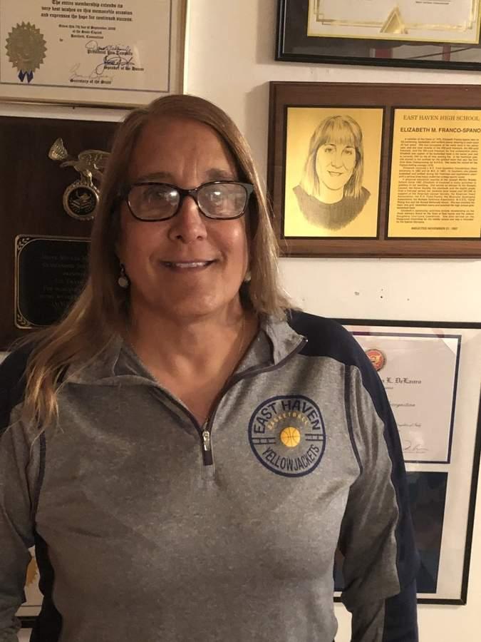 Lifelong East Haven resident and Yellowjackets' alum Liz Franco-Spano was recently selected as the town's Teacher of the Year.  Photo courtesy of Liz Franco-Spano