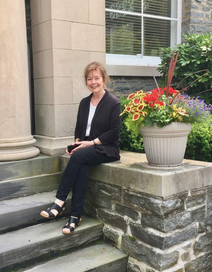 Through her role as vice president of the Chester Library Board of Trustees, Karin Badger has helped foster the metamorphosis of the 100-plus-year-old facility while it has been closed due to the coronavirus pandemic. Photo courtesy of Karin Badger