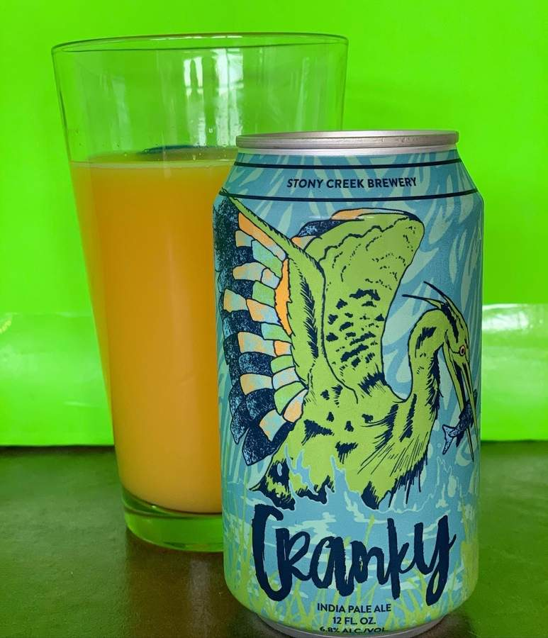 Cranky IPA from Stony Creek brewery in Branford is just the thing for the Don't Be Cranky Bro-mosa at Tea Kettle in Old Saybrook. Photo courtesy of Tea Kettle