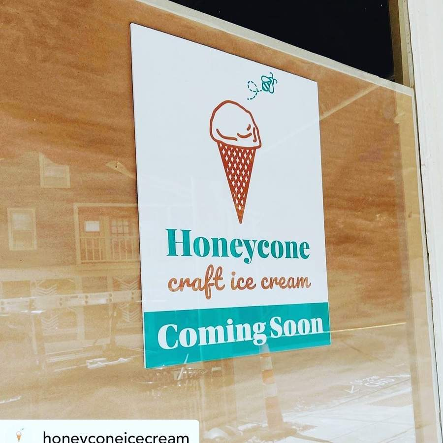 Welcome to Honeycone, coming soon to Main Street in Chester. Photo courtesy of Chester Merchants Association