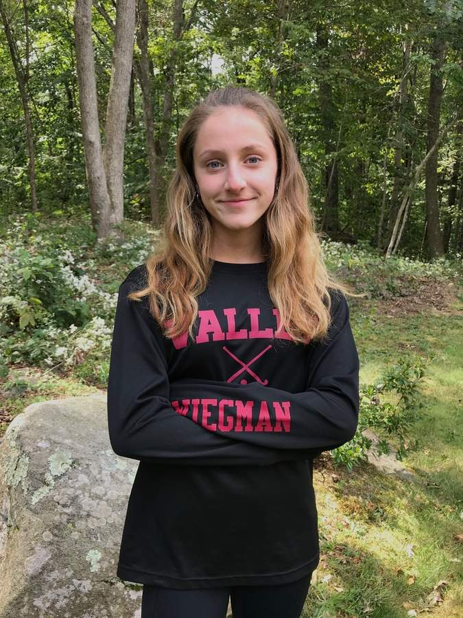 Lauren Wiegman is taking the reins as a senior captain for the Valley Regional field hockey team this season. Lauren can play multiple positions, but will most likely be up front on the attack with the Warriors. Photo courtesy of Lauren Wiegman
