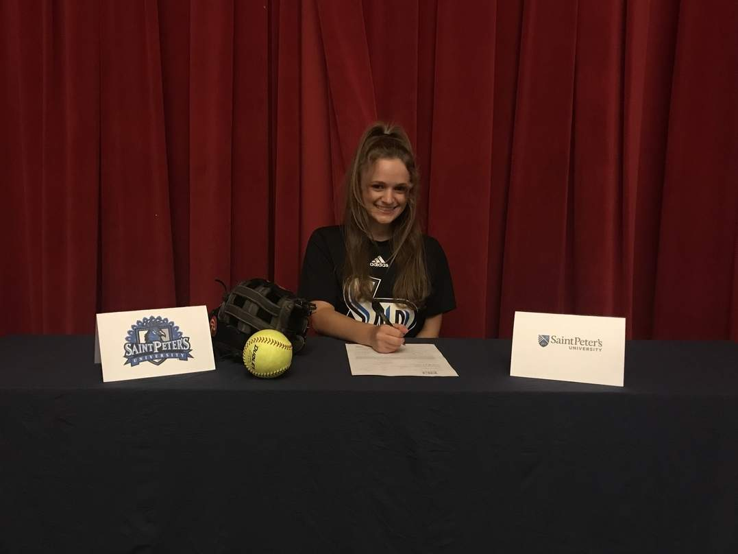 Valley Regional senior Lexi Ross has signed a National Letter of Intent to join the Division I softball team at St. Peter's University next year. Photo courtesy of Valley Regional Athletics