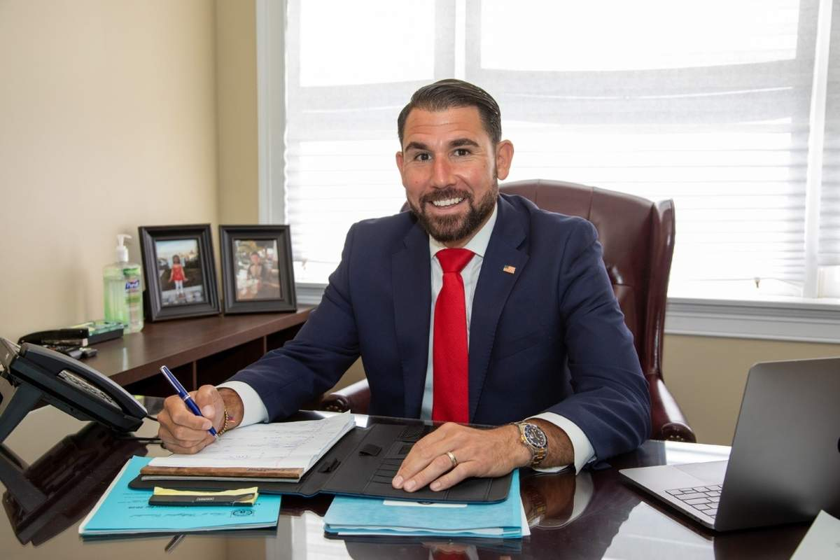 Paul Cicarella plans to bring hard work, honesty, accessibility, and dedication to the constituents in the 34th District as the newly elected state senator. Photo courtesy of Paul Cicarella