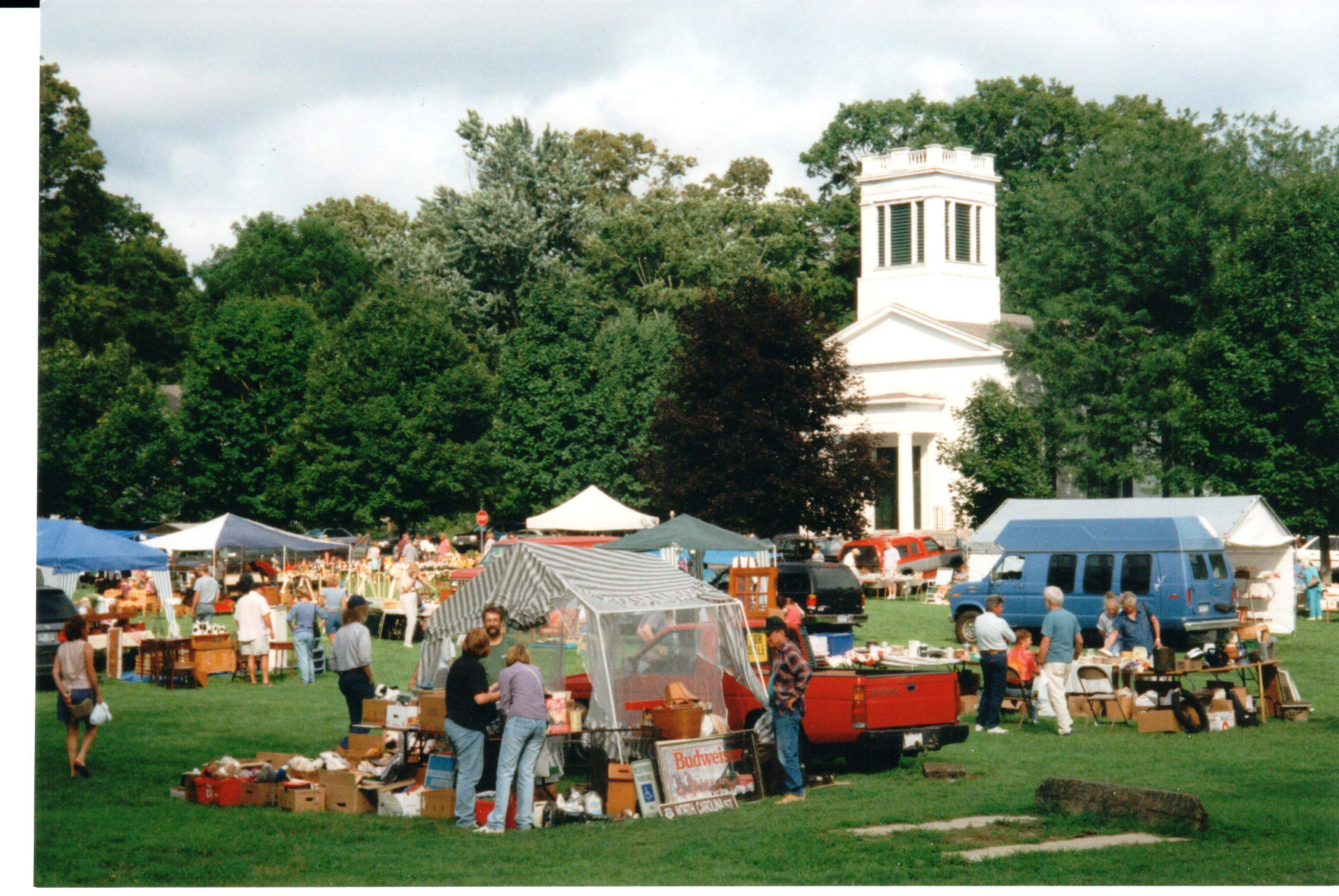 Annual August Flea Market and Rummage Sale at Deep River Congregational Church