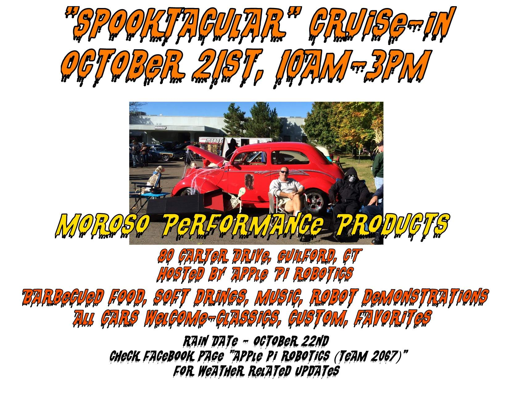 Spooktacular Cruise In at Moroso Performance Products