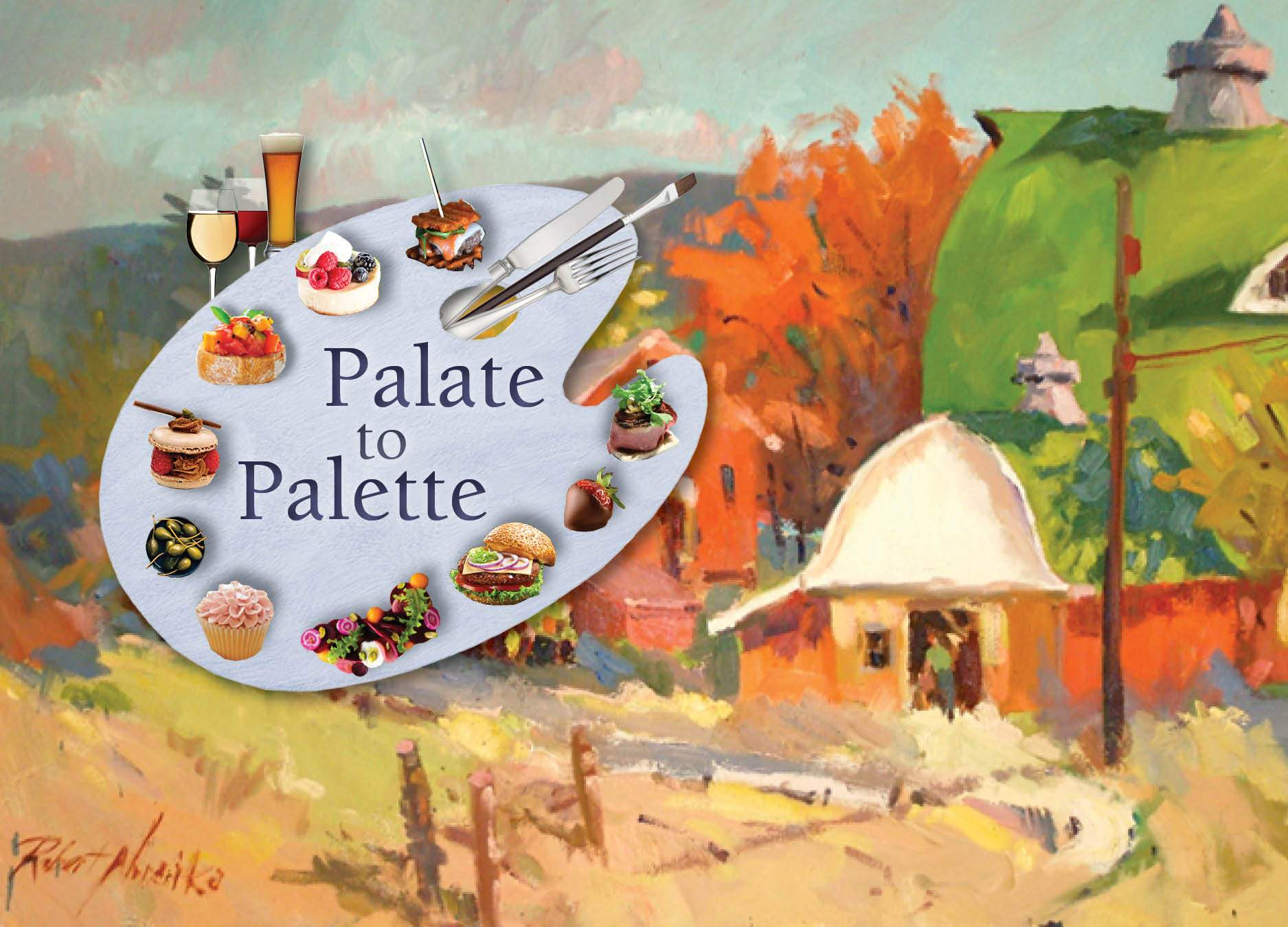 Palate to Palette ~ A Delicious and Art-Filled Fundraiser for the Lyme Art Association