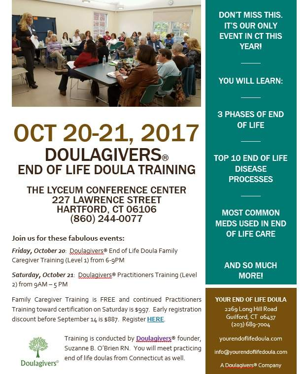FREE End of Life Doula Training