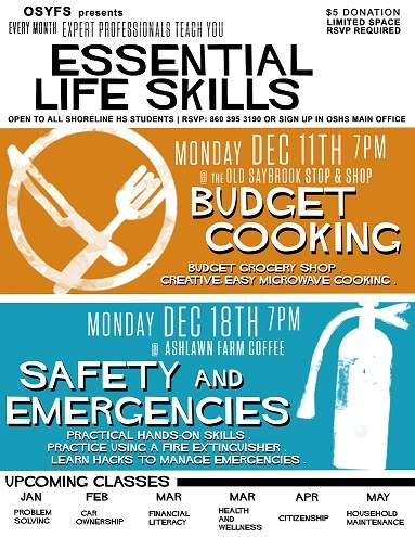Essential Life Skills Class for Teenagers: Healthy & Budget Booking