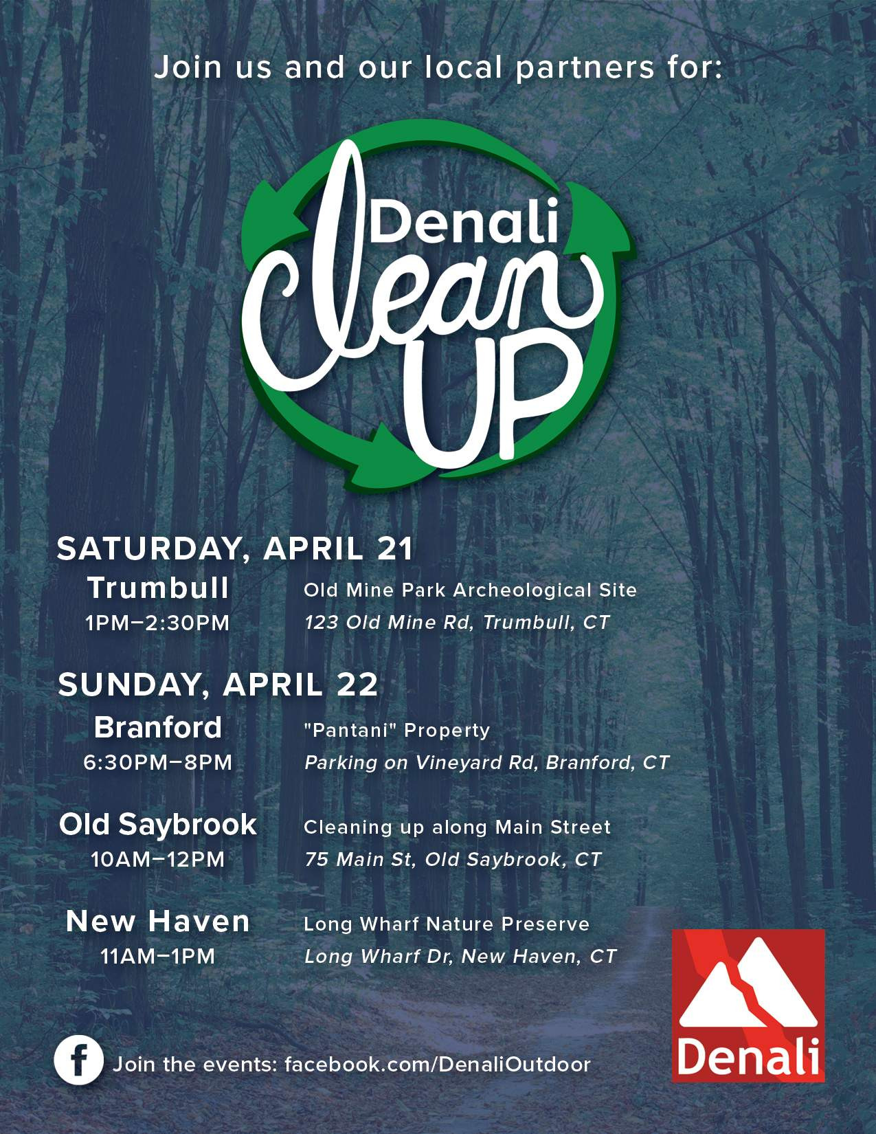 Earth Day Clean Up in New Haven