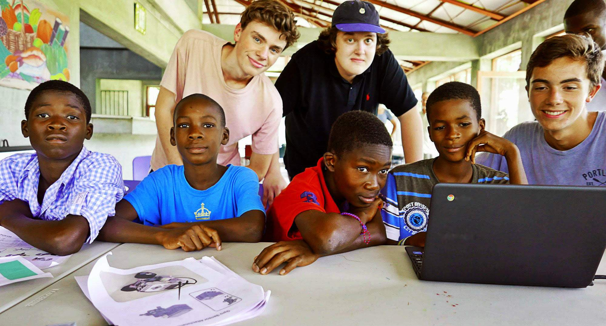 Talk and Film by area students on Robotics and Education in Haiti