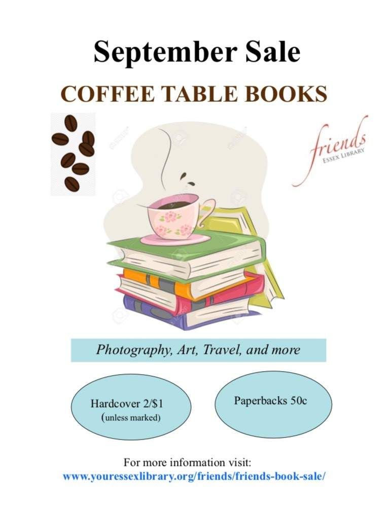 Essex Library Featured Sale - Coffee Table Books