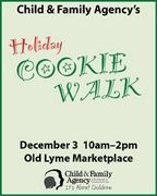 Child & Family Agency Holiday Cookie Walk; Saturday, December, 8, 2012